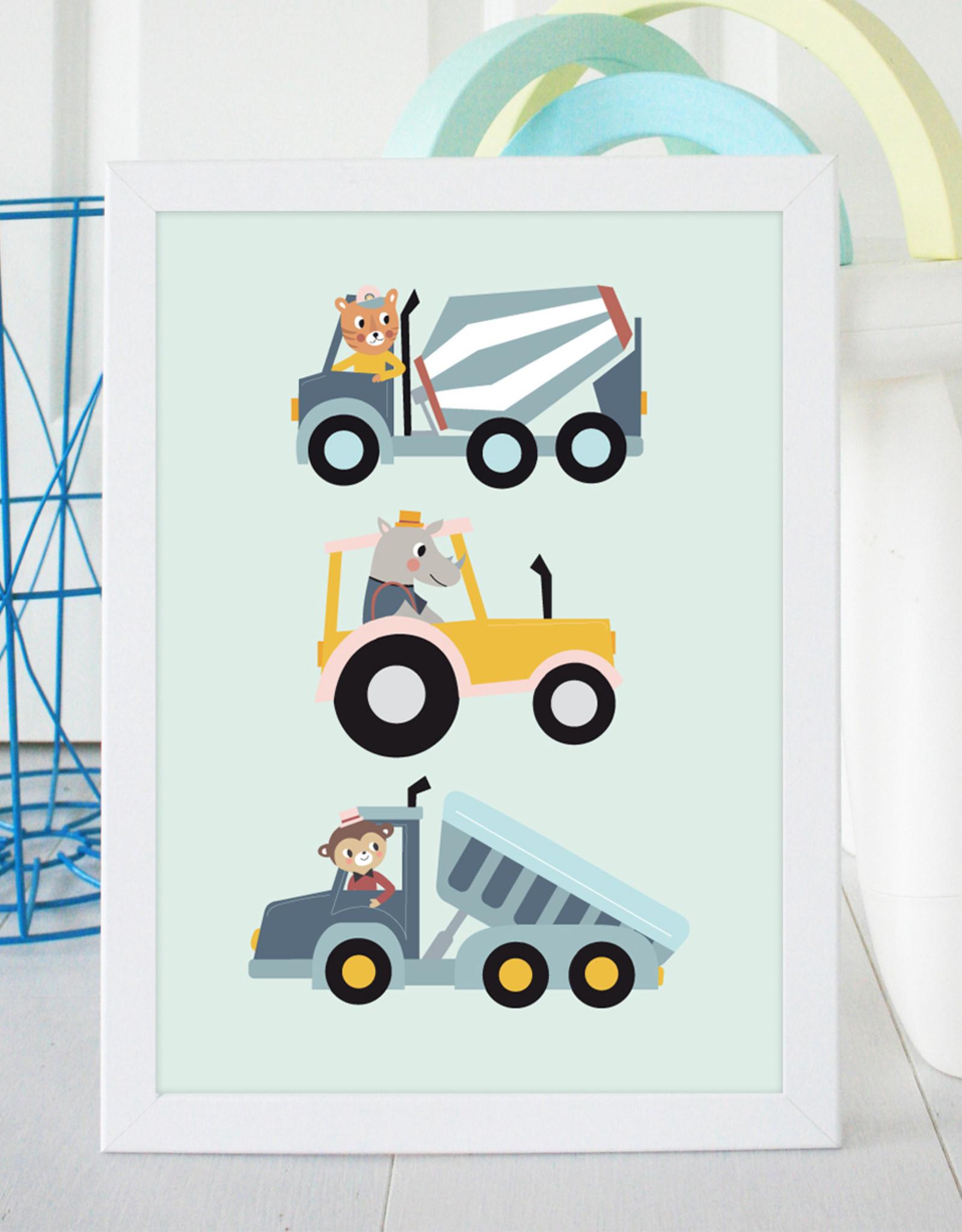 Poster für's Kinderzimmer - ABC natur - Copy