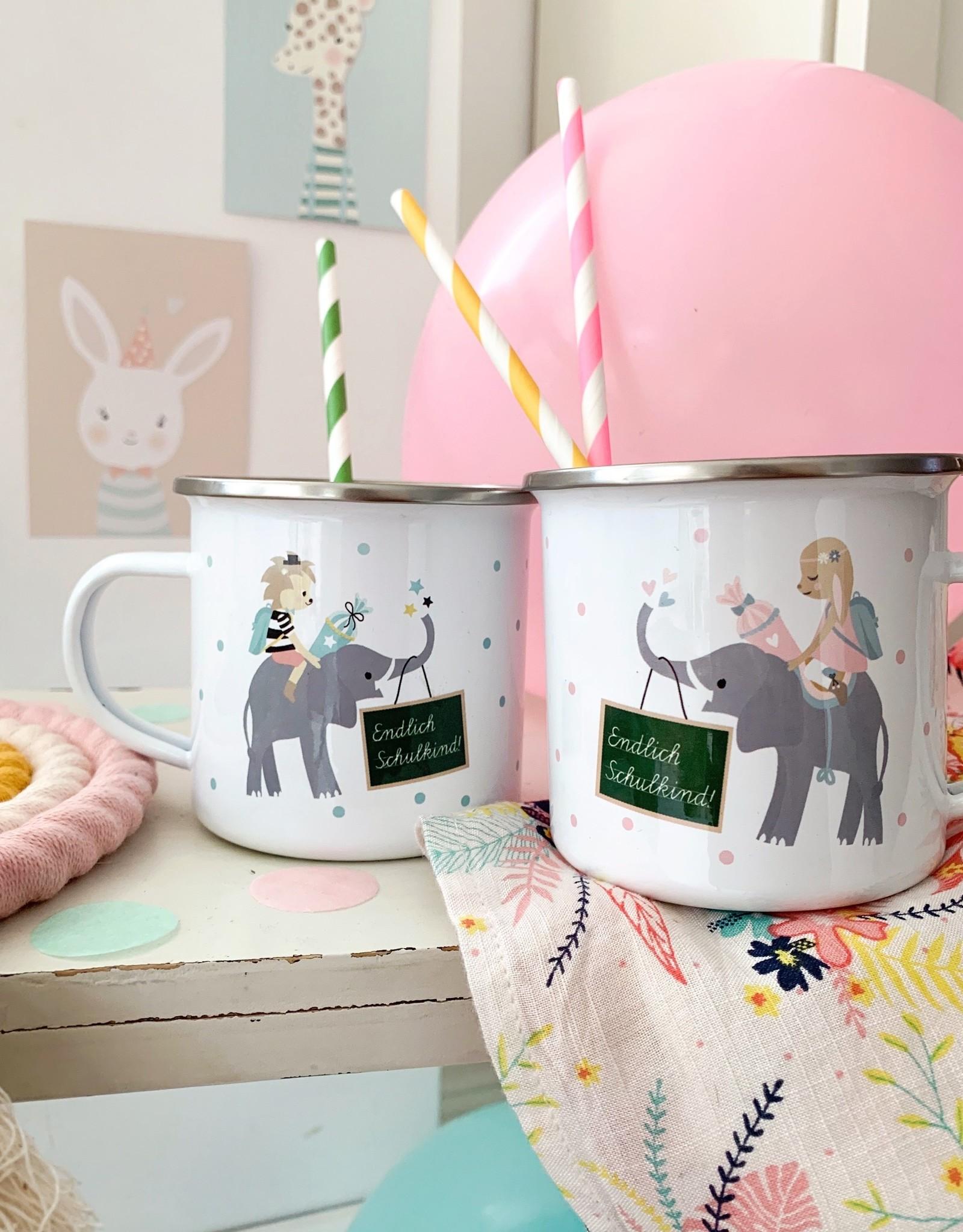 High quality emaille mug Beautiful Mama - Copy - Copy