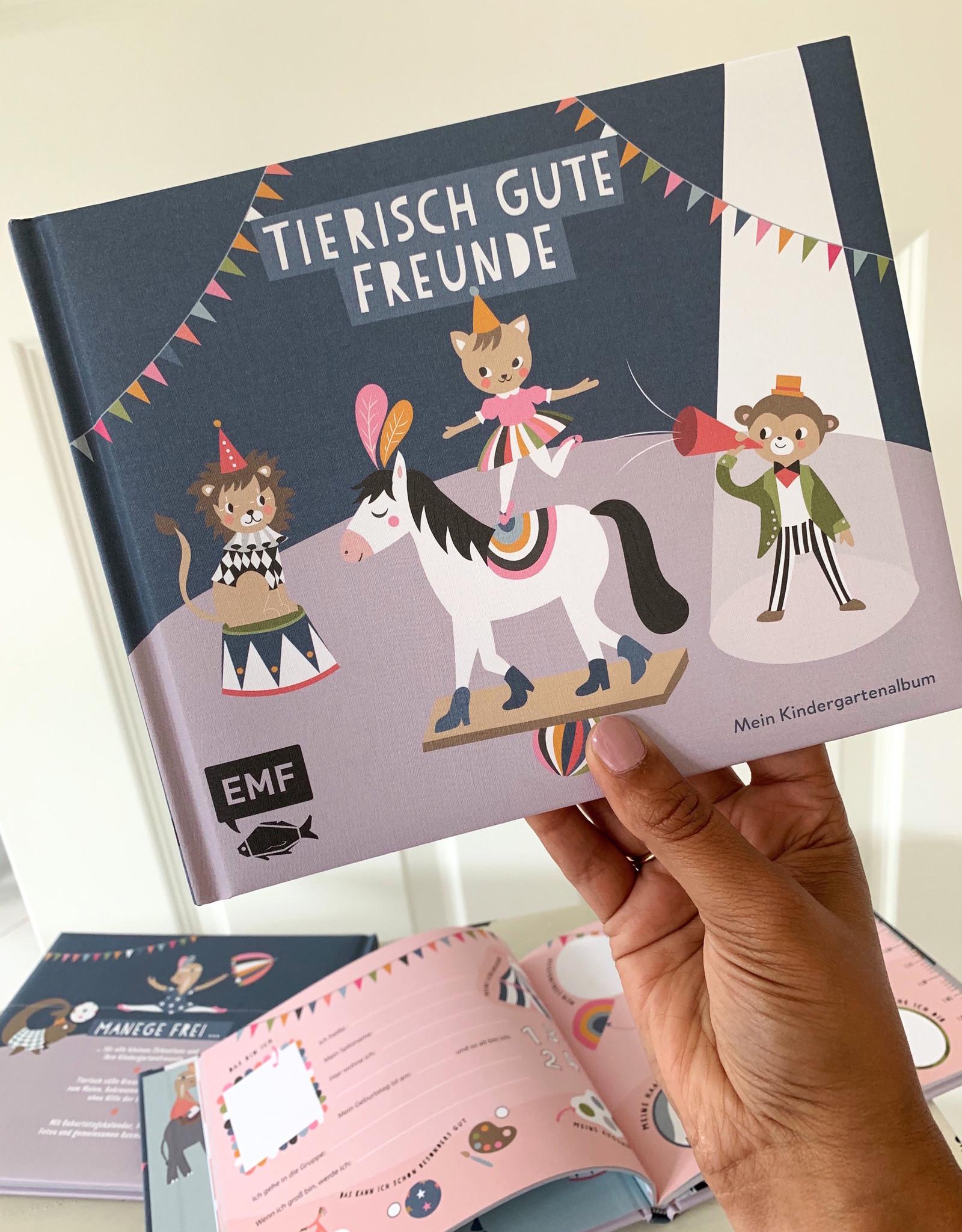 """Book for friends """"Tierisch gute Freunde"""""""