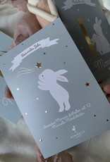 milestonecards with goldprint