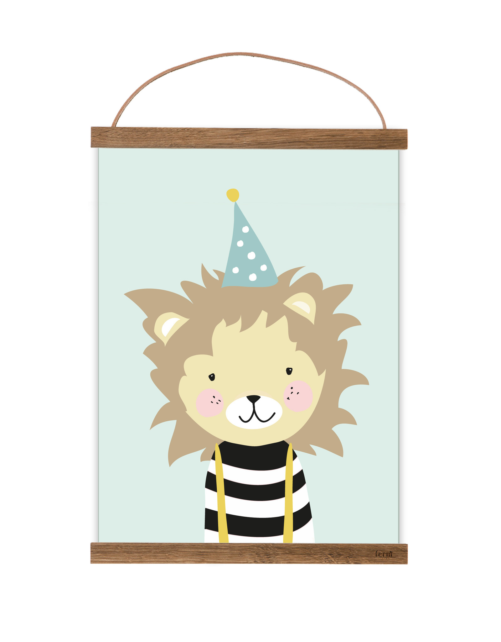 Poster für's Kinderzimmer Kleiner Löwe