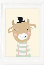 Poster für's Kinderzimmer - Kleiner Bull