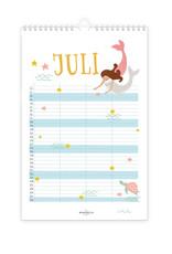 Mimirella family calendar