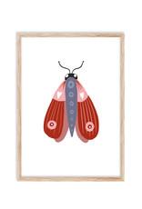 Poster Kleine Motte