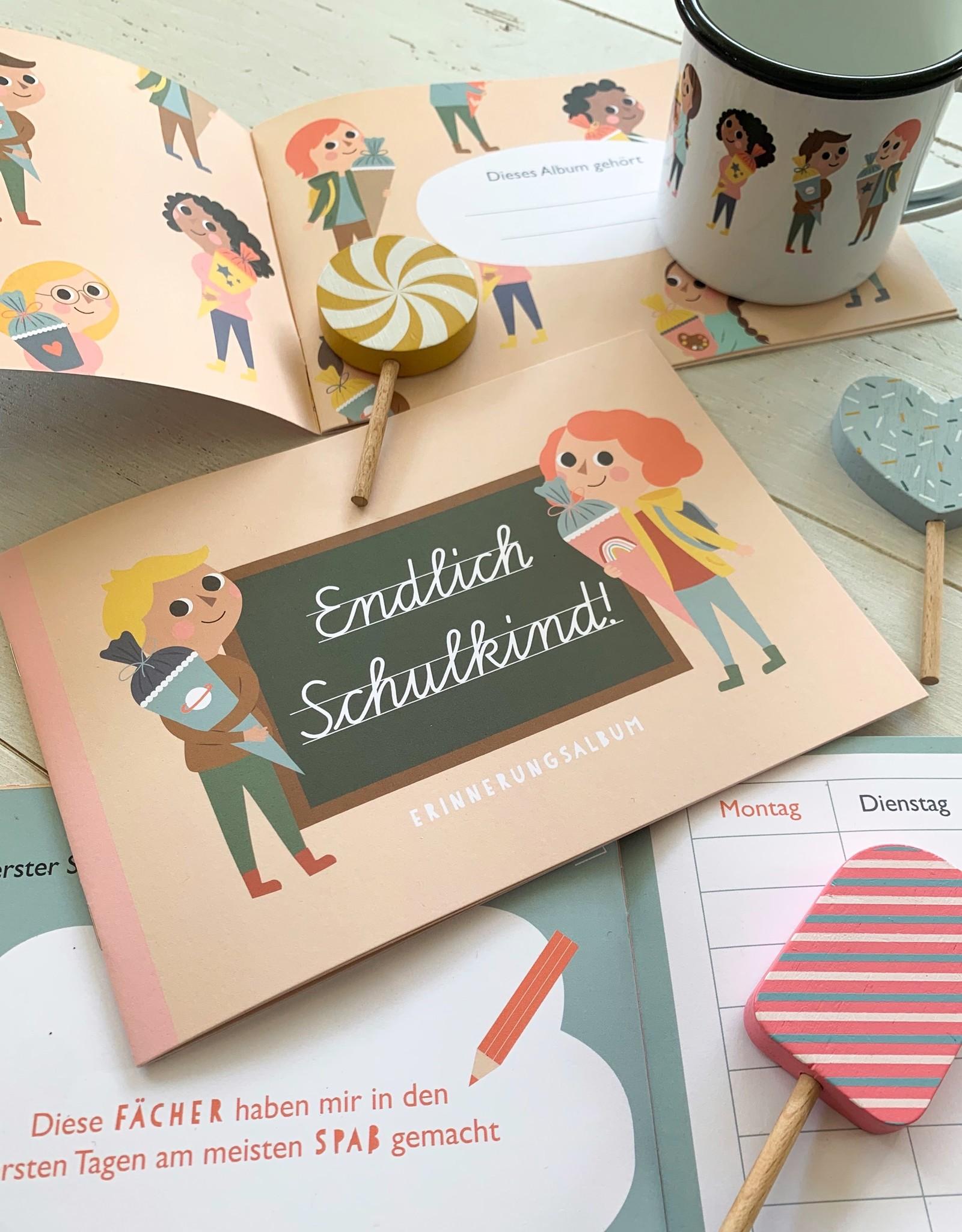 """Erinnerungsalbum """"Endlich Schulkind"""""""