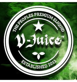 Vjuice Premium Eliquids V-JUICE 6mg E-liquids 10ml TPD Compliant 80/20 sold as a pack of 20