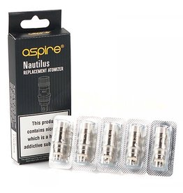 Aspire  Aspire Nautilus / Nautilus mini replacement BVC coils ( Pack of 5)
