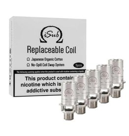 Innokin Technology Innokin iSub Replacement Coils sold as pack of 5