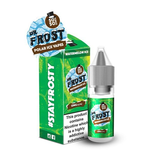 Dr Frost Dr Frost 50/50 6mg, 12mg, 18mg E-liquid Sold as a pack of 10