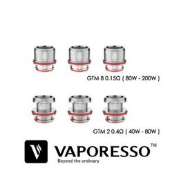 Vaporesso Vaporesso GTM2 / GTM8 replacement coils pack of 3
