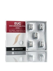 Vaporesso Vaporesso EUC Ceramic replacement coils 0.3 ohm, 0.5 ohm and 0.6 ohm pack of 5