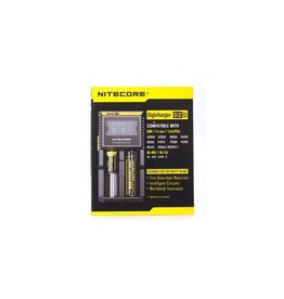 Nitecore Nitecore D2 Charger Universal Charger Digital Screen 18650/20700/21700