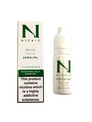Nic Nic NicNic Nicotine Salt, 18mg and 36mg, Pack of 120