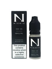 Nic Nic NicNic Nicotine Shot 100VG, 15mg & 18mg, Pack of 120