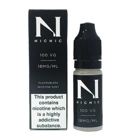 Nicnic Nicnic Nicotine Shot 100VG, Pack of 120