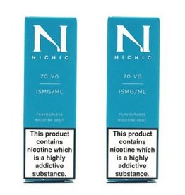 Nic Nic NicNic Nicotine Shot 70VG, 15mg & 18mg, Pack of 120