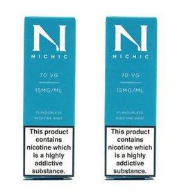 Nicnic Nicnic Nicotine Shot 70VG, Pack of 120