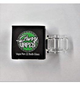 SAVVY VAPES  Savvy Vapes Smok Vape Pen 22 Bubble Glass sold as a pack of 10