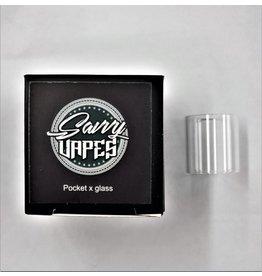 SAVVY VAPES  Savvy Vapes Aspire PockeX Glass sold as a pack of 10