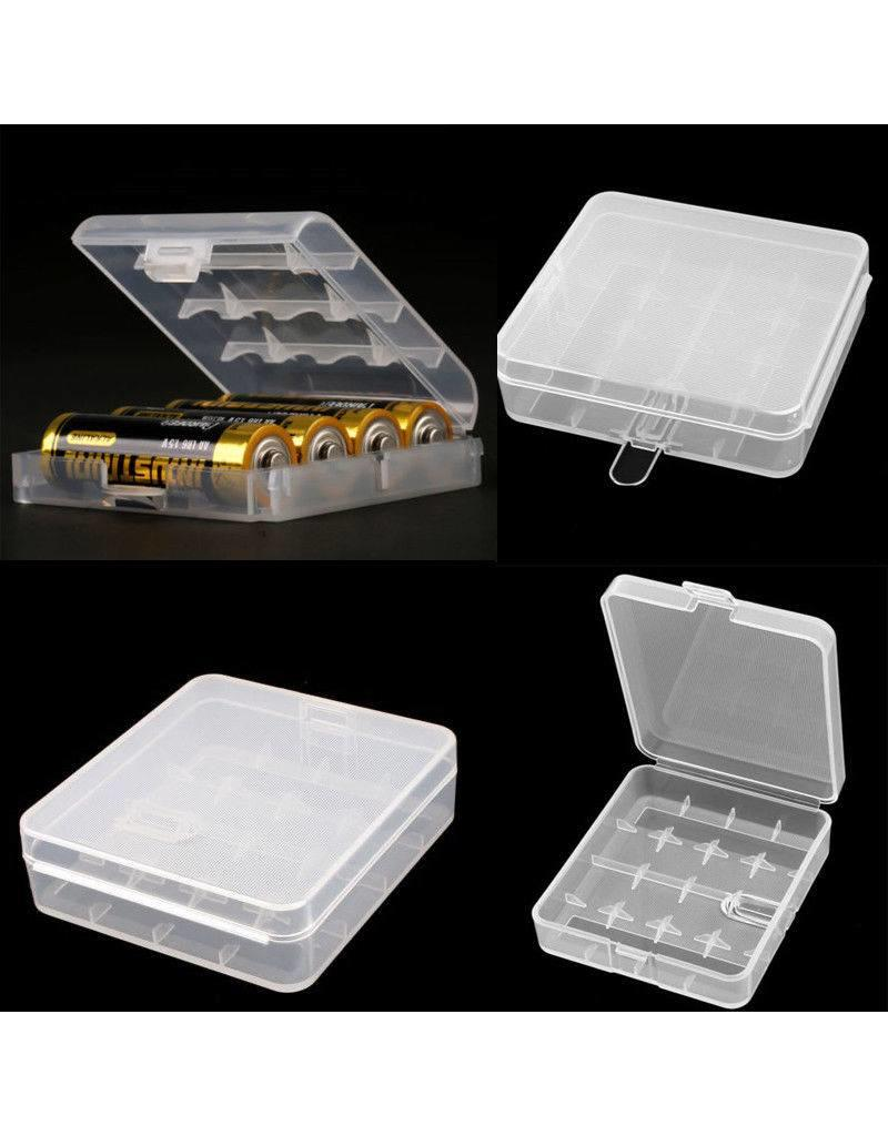 Unbranded/Generic Clear Battery Case for 4 x 18650 Batteries