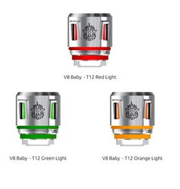 Smok Smok V8 Baby - T12 Light 0.15 Ohm Replacement Coil sold as a pack of 5