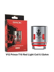 Smok Smok V12 P-Tank T10 Light 0.12 Ohm Replacement Coil sold as a pack of 3