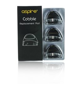 Aspire  Aspire Cobble Replacement Pod sold as a pack of 3
