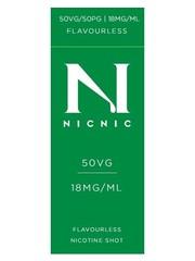 Nic Nic NicNic Nicotine Shot 50VG, 18mg sold as a pack of 120