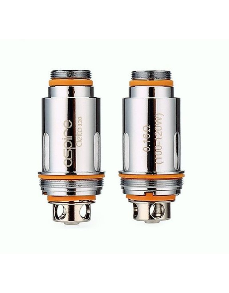 Aspire  Aspire Cleito 120 0.16 Ohm Replacement Coils sold as a pack of 5