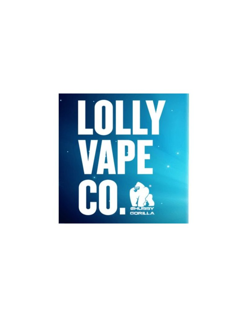 Lolly Vape Co Lolly Vape Co 3mg, 6mg, 12mg, 18mg 50/50 10ml E-liquid sold as a box of 10