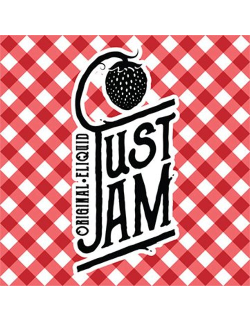 Just Jam Just Jam 3mg, 6mg, 12mg, 18mg 50/50 10ml E-liquid sold as a pack of 10