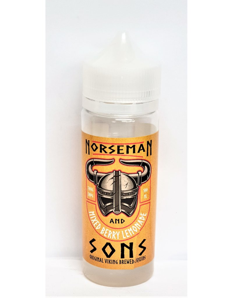 Norseman and Sons Norseman and Sons E-liquid 120ml Shortfill
