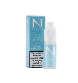 Nic Nic NicNic Ice Cool Nicotine Shot 70 VG,18 MG, Pack of 120