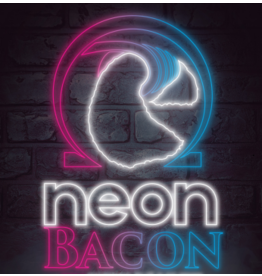 Wick 'N' Vape Neon Bacon by Wick 'N' Vape 100ml E-liquid