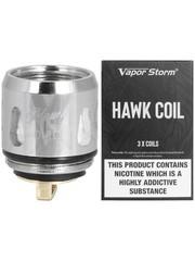 Vapor Storm Vapor Storm 0.2 Ohm Hawk Replacement Coils, Pack of 3