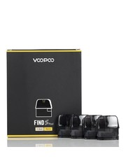 Voopoo  Voopoo Find S Trio 2ml Replacement Pods, Pack of 4.