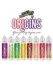 Twelve Monkeys Twelve Monkeys Origins E-liquid 60ml Shortfill