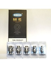 Sigelei Sigelei 0.25 Ohm MS Replacement Coils, Pack of 5