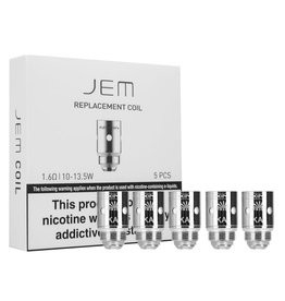 Innokin Technology Innokin JEM 1.6 Ohm Replacement Coil, Pack of 5