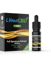 LiveWell LVWell CBD - Raw (Oral) 3000mg – Full Spectrum Extract