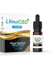 LiveWell LVWell CBD Winterised THC Free (Oral) Broad Spectrum 2000mg