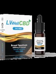 LiveWell LVWell CBD Winterised THC Free (Oral) Broad Spectrum 5000mg
