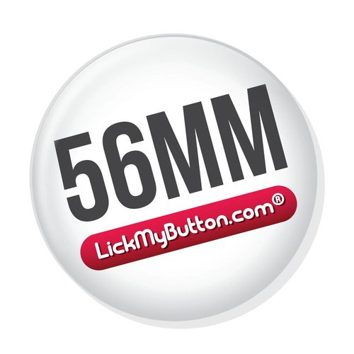 56mm / 55mm (2 1/4 inch) fournitures badges