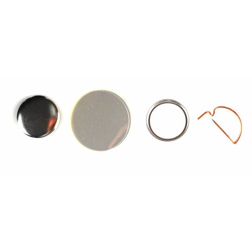 Button Onderdelen, speld, 25mm (1 inch) , per 100 sets