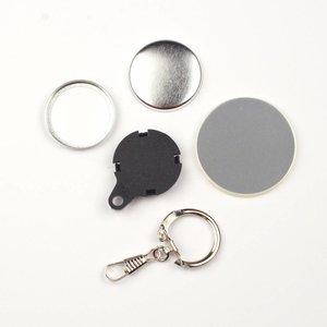 Sleutelhanger button onderdelensets 25mm (per 100 sets)