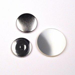Fournitures badges magnétiques 25mm (par 100 sets)