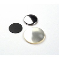 Flatback Button parts 25mm (per 100 sets)