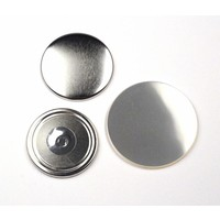Magneetbutton onderdelensets 56mm (per 100 sets)