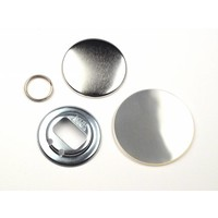 Flessenopener Button Onderdelenset, 56mm (per 100 sets)