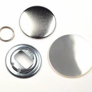 Flessenopener Button Onderdelenset, 56mm (per 100 sets)